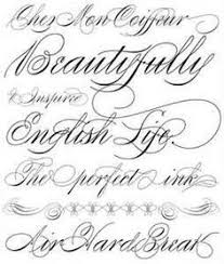cursive tattoo font print out pinterest cursive tattoos