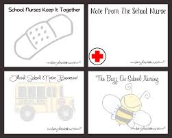 diary of a school just for printable note cards for