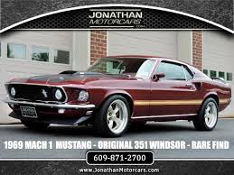 ford mustang 351 1969 ford mustang mach 1 fully documented 351 stock