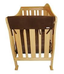 Convertible Crib Rail by Amazon Com Trend Lab Fleece Cribwrap Rail Covers For Crib Sides
