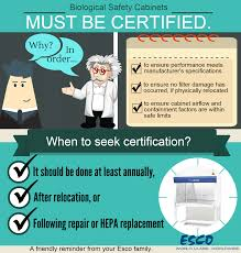 Cabinet Certification Let U0027s Talk About Biosafety 2015