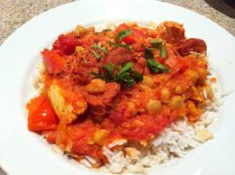 cuisine 100 fa ns thermomix chicken chorizo chickpea stew by lyndsay b a thermomix sup