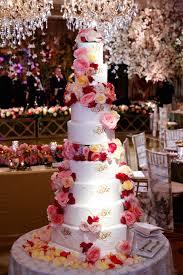 wedding cake roses wedding cakes 20 ways to decorate with fresh flowers inside