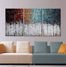 Modern Art Home Decor Amazon Com Santin Art Circle Of Magic Modern Canvas Art Wall