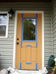 Paint A Front Door Why Hello There American Walnut