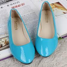 light blue shoes womens korean candy color flat base patent l end 6 1 2018 7 08 pm