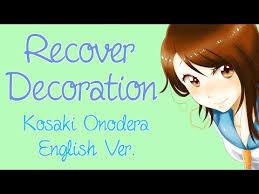 heart pattern lyrics nisekoi english recover decoration nisekoi akane sasu sora youtube