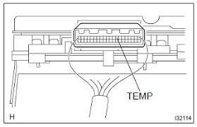 toyota corolla repair manual malfunction in water temperature