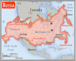 map usa russia the world factbook central intelligence agency