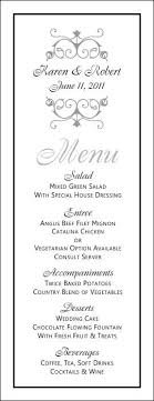 5 course menu template best 25 menu templates ideas on food menu template