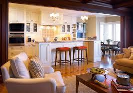 deco cuisine classique déco cuisine ouverte sur salon en 18 propositions tendance