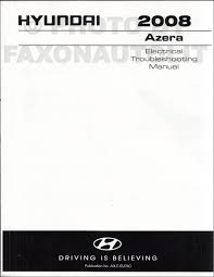 2008 hyundai manuals