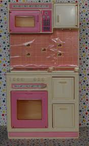 vintage barbie sweet roses kitchen dollhouse furniture