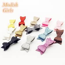 wholesale hair bows 15pcs lot modish wholesale hair bows bestseller glitter felt
