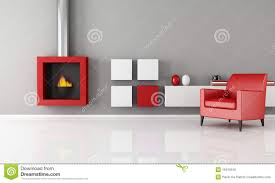 Images Of Gray Living Rooms Gray White And Red Minimalist Living Room Stock Images Image