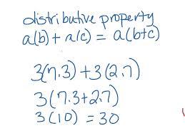 Worksheets Distributive Property Showme Distributive Property Using Fraction