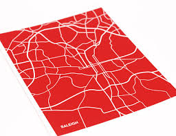 nc state cus map raleigh wall print nc state city map