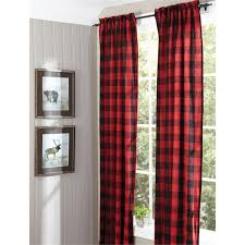 Black Check Curtains And Black Curtain Panels Bedroom Curtains Siopboston2010