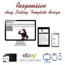 responsive design template responsive ebay listing template design auctiva inkfrog
