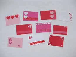 valintine cards easy mini school cards to make in minutes