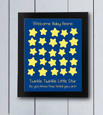themed guest book twinkle guest book printable pdf baby shower