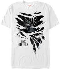 panther logo ripping through shirt clipart library