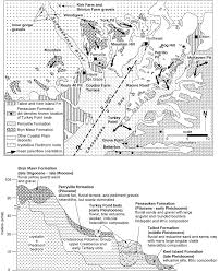 Route 40 Map by Rivers Glaciers Landscape Evolution And Active Tectonics Of The