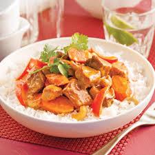 plat cuisiné à congeler mijoté de porc à l asiatique recettes cuisine et nutrition