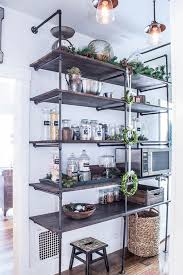 Industrial Shelving Unit by Industrial Pipe Shelving Unit Industrial Shelves Rustic