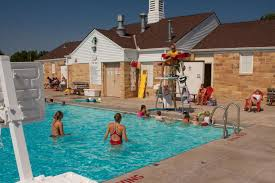 Outdoor Swimming Pool by Roy T Lindenberg Memorial Outdoor Swimming Pool City Of Saint
