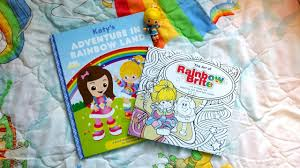 product review rainbow brite coloring book personalized