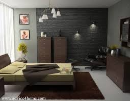 Hanging Light For Bedroom Brick Bedroom Design With Hanging Light And Wall Light L