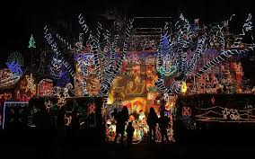 Decorative Christmas Lights Uk by Extravagant Christmas Light Displays On Houses Telegraph