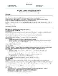 san administration sample resume 14 government contract