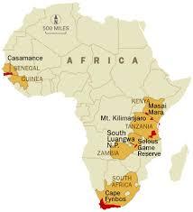 africa map senegal africa senegal national geographic adventure magazine