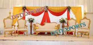Wedding Stage Chairs Asian Wedding Furnitures Exporter From Patiala