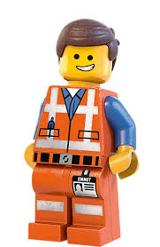emmet 2 large wall decal lego 40