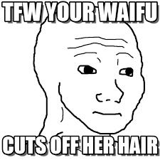 Badass Guy Meme - tfw your waifu feels guy meme on memegen