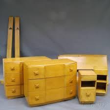Heywood Wakefield Corner Cabinet Search All Lots Skinner Auctioneers