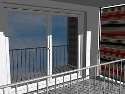 balkon markise ohne bohren balkon markise ohne bohren