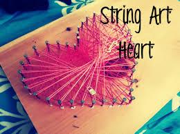 string art heart youtube