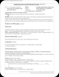 Pediatric Medical Assistant Resume Resume And Cover Letter Writing Tips Resume For An Accountant Top