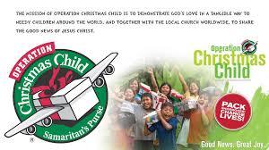 operation christmas child faith community church faith community