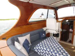 Home Yacht Interiors Design Interior Design G L Watson Co Blue Birds Wheel House After Refit