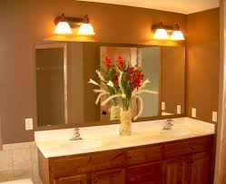 How To Hang Bathroom Mirror How To Install A Bathroom Vanity And Sink