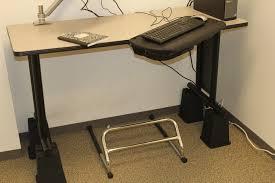 28 footrest for standing desk amazon com adjustable