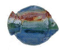ceramic fish platter vintage ceramic fish platter made in italy extraordinary serving