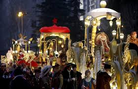 fotos reyes magos cabalgata madrid reyes magos un año de cabalgatas polémicas sin animales y con