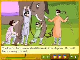 Blind Men And The Elephant Poem Six Blind Men U0026 Their Opinion Respect Others Views Youtube