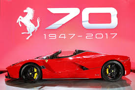 car ferrari pink australia celebrates 70 years of ferrari trackworthy
